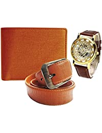 Wallet Belt & Watch Combo For Men & Boys. Product