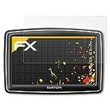 atFoliX Schutzfolie für Tomtom XXL IQ Routes Displayschutzfolie - 3 x FX-Antireflex blendfreie Folie