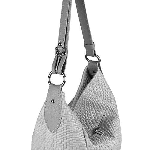 5072fef72a6c0 ... OBC Made in Italy DAMEN TASCHE LEDER DIN-A4 Shopper Schultertasche  Ledertasche Umhängetasche Handtasche Henkeltasche ...