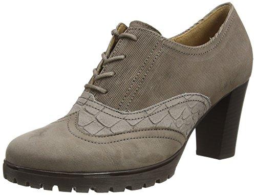 Gabor Shoes - Gabor Basic 35.250, Stringate da donna Grigio (Grau (fumo/fango/cenere 13))