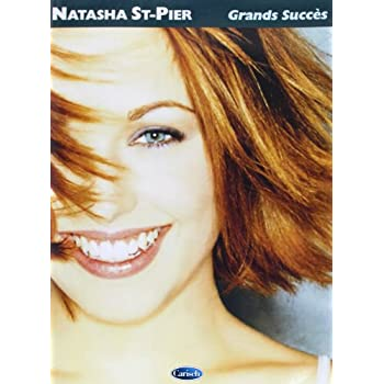 St-Pier Natasha Grands Succes Piano Vocal Guitar Book