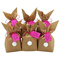 12 DIY Coniglietti di Pasqua da riempire - un regalo che viene dal cuore - per bambini a Pasqua - Decorazione Coniglietto di Pasqua Questo set DIY (do-it-yourself) contiene tutto ciò che serve per un regolo person...