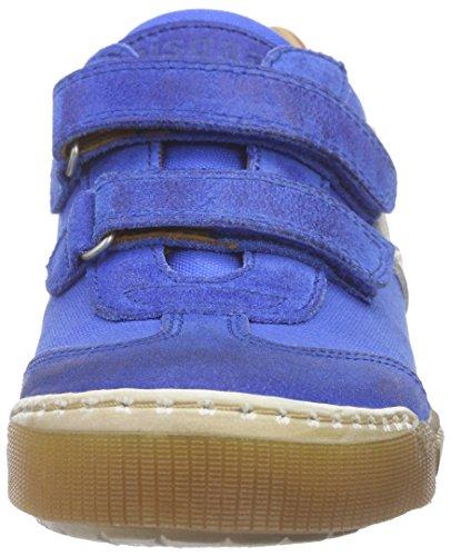Bisgaard Unisex-Kinder Velcro Shoes Low-Top Blau (149 Skydiver)
