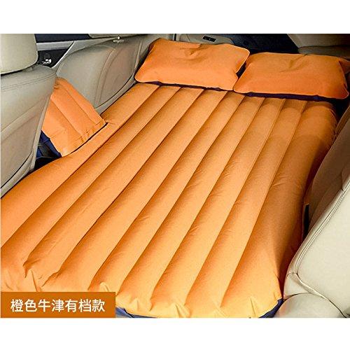 Zallx Auto Stop Obbligatorio Artefatto Self-Drive Lungo Auto Aria Letto Materasso Zhen,Arancione Spessa Panno Di Oxford