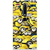 Chiraiyaa Designer Printed Premium Back Cover Case for Nokia 6.1 (Minion Group Smile) (Multicolor)