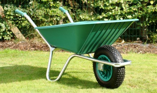 Main Gate Wheelbarrow County Clipper - Green