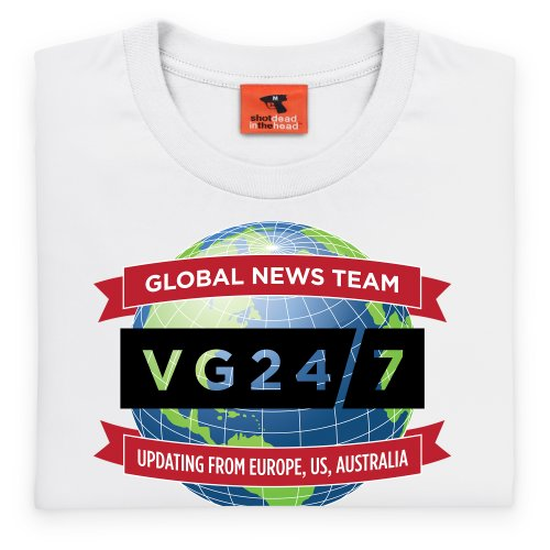 VG247 Global T-Shirt, Damen Wei ...