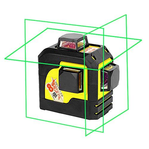 Firecore F93TG professional 3D Grün Line Laser Level selbstjustierend 3 * 360 horizontale und vertikale Cross Line Laser