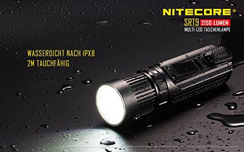 Nitecore SRT9 Taktische Taschenlampe - 8