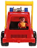 Lena 04355 - Aktive Feuerwehr mit Spielfigur, Wassertank und Spritzfunktion ca. 26 cm für Lena 04355 - Aktive Feuerwehr mit Spielfigur, Wassertank und Spritzfunktion ca. 26 cm