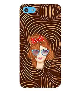 PRINTVISA Beautiful Girl Case Cover for APPLE IPOD TOUCH 6