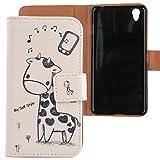 Lankashi PU Flip Leder Tasche Hülle Case Cover Schutz Handy Etui Skin Für OnePlus X Onyx 5