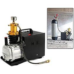 Compresseur d'air à haute pression de compresseur d'air de PCP de compresseur d'air de pompe électrique de compresseur 300bar / 30Mpa / 4500PSI 1800W