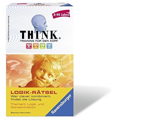 Think® Kids Logik-Rätsel: Wer clever kombiniert, findet die Lösung!