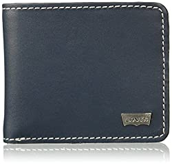 Levis Leather Indigo Mens Wallet (37541-0028)
