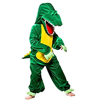 (XXL) Boys Girls Snappy Croc Costume for Animals Bugs Creatures Fancy Dress