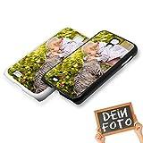 Handyhülle für Samsung Galaxy-Serie selbst gestalten * eigenes Foto * Schutz mit eigenem Bild, Farbe:Schwarz, Handymodell:Samsung Galaxy S4 / S4 Value