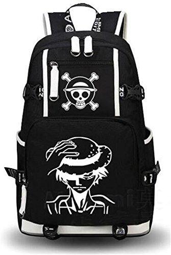 yoyoshome Luminous One Piece Anime Cosplay Umhängetasche Schultasche Rucksack Schultasche 2