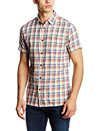 Jack & Jones Vintage Jjvmaywood Shirt S/s One Pocket, Chemise de Loisirs Homme