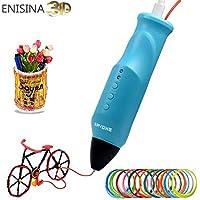 3D Stift, ENISINA 3D Druck Stift, 3D Drucker, Kompatibel mit PLA/PCL, USB Lade, Niedrigtemperatur Druck, Last Filament automatisch, 3D Drucker für MINT Bildung