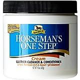 Horsemans One Step Reiniger für Sattel- und Zaumzeug und Conditioner, 425 g