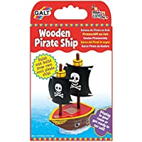 Galt Toys Wooden Pirate Ship