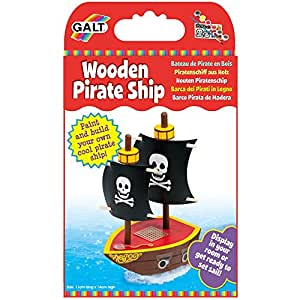 Galt Toys Wooden Pirate Ship