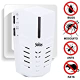 Pest Control, Sokos Ultrasonic Electric Pest Repeller Wall Plug-in-Indoor Pest Control Repellent