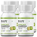 Inlife Garcinia Cambogia Slim Weight Loss Fat Burner Supplement (60% HCA) 1200 mg