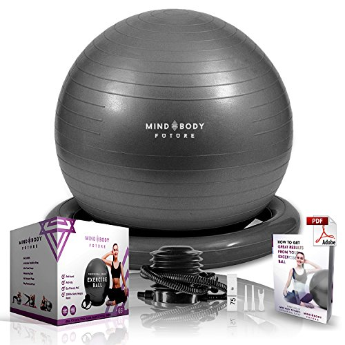 c327698d322 Pelota Suiza o Gym Ball Mind Body Future. Bola para Pilates, Yoga, Fitness