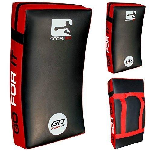 Vader Sports Kick Shields Gebogen groß Thai Boxen Taekwondo Kick-Pads MMA UFC Boxen Punch (Punch Pad)