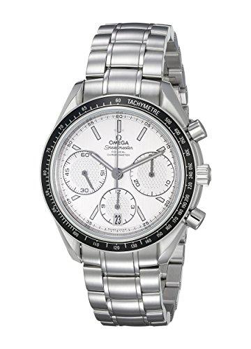 Omega Speedmaster Racing / orologio uomo / quadrante argento / cassa e bracciale acciaio