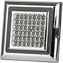 Discoball® 12V 42LED bianchi luce capannone lampada per tenda rimorchio roulotte auto tetto soffitto a cupola luce interna con viti