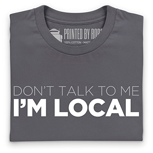 I'm Local T-Shirt, Herren Anthrazit