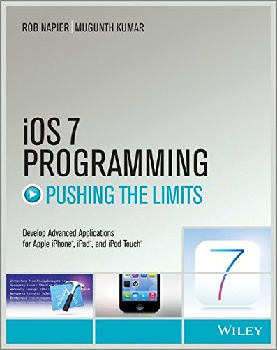 Preisvergleich Produktbild iOS 7 Programming Pushing the Limits: Develop Advance Applications for Apple iPhone, iPad, and iPod Touch