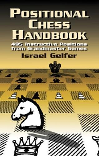 Positional Chess Handbook: 495 Instructive Positions from Grandmaster Games (Dover Chess) por Israel Gelfer