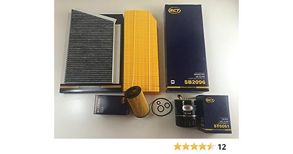Filter Set Inspektionsset 4 X Filter Sct Germany C Klasse W203 C 200 220 270 Cdi Auto