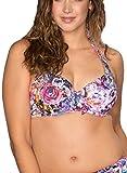 Pour Moi? Damen Bikini-Set Gr. 70 D, Pinks Multi