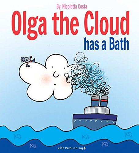Olga the Cloud has a Bath (English Edition) por Nicoletta Costa