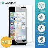 [1x MATT] Panzerglas Folie für iPhone SE / 5 / 5s / 5c • Panzerfolie mit 9H Härte • Blasenfreie Montage der Folie • Ultra-Dünn (0.3 mm) • Gerundete Kanten (2.5D) • Anti-Fingerabdruck