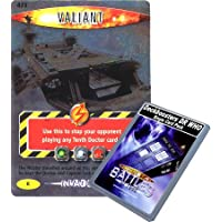 Doctor Who - Deckboosters Single Card : Invader 098 (473) Valiant Dr Who Battles in Time Rare Card