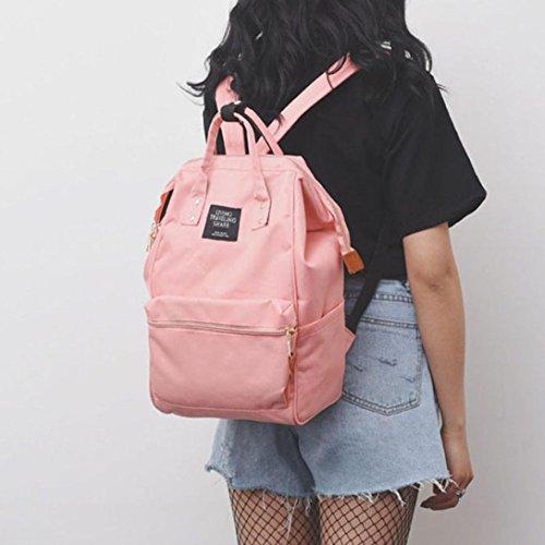 38655657a6c64 ... Schulranzen Reiserucksack Backpack Doppelte Umhängetasche  Reißverschlusstasche Wickeltasche Wickelrucksack Handtaschen Multi  funktioneller Reise