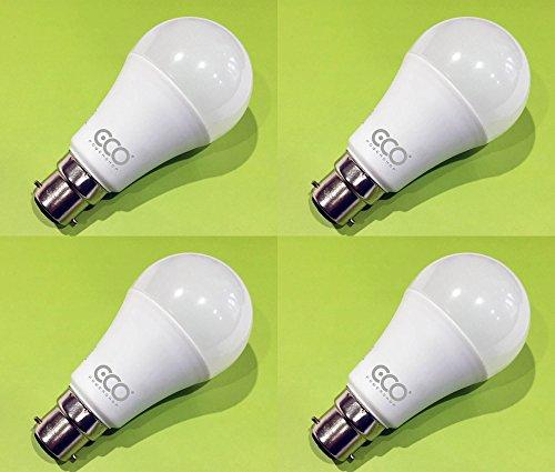 3 Prong Power (LED-Leuchtmittel, 3-Pin, BC3,12W, energiesparend, warmweiß (3000K), über 6000 Stunden Lebensdauer, 4er-Pack,Box mit 4Leuchtmitteln)