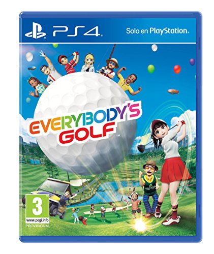 Everybodys Golf PS4 (Playstation Golf 4 Spiele)