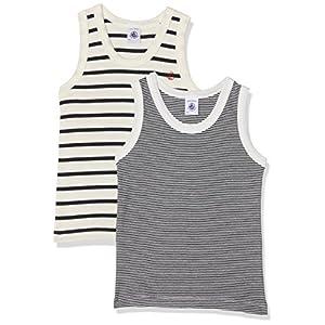 Petit Bateau 36797, Camiseta de Tirantes Para Niños, Pack de 2 6