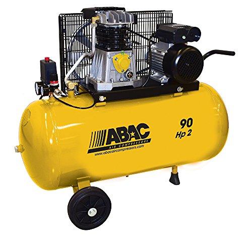Compresor Abac B26/90Cm290Litros Potencia 2Hp 230V Con Kit 5Piezas