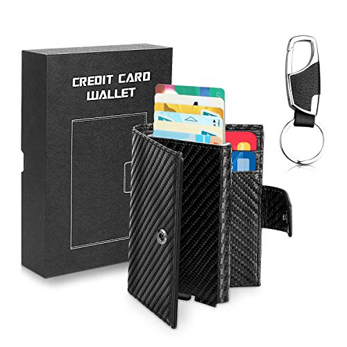 WisFox Cartera Slim Wallet Billetera Delgada Tarjetero
