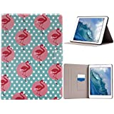 Funda iPad Pro 9.7 con Auto-Sueño / Estela Función, iPad 7 Tablet Flip Case Cover, iPad Pro Mini 9.7 Carcasas, iPad Pro 9.7 Bolsas, Moon mood® Tableta Funda para Apple iPad Pro 9.7/iPad 7/iPad Pro Mini PU Cuero Duro PC Interior Concha Flip Soporte Función con 2 Ranuras Botón Magnético Folio Smart Case Fundas Carcasa Protección Auto Wakeup/Sleep Function para Apple iPad Pro (no para iPad Pro 12.9)