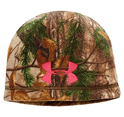 Under Armour Womens UA ColdGear Infrared Scent Control Camo Beanie One Size Fits All REALTREE