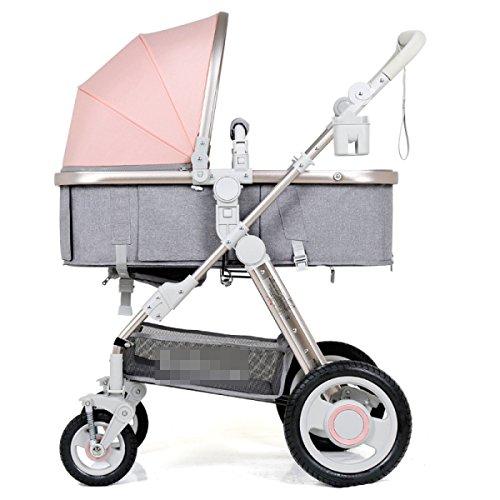 El Paisaje Del Cochecito De Bebé Alto Puede Estar Mintiendo Se Puede Plegar El Cochecito Ligero De Los Carros De Los Niños,A21-OneSize